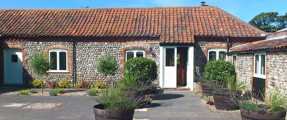 Abbey Cottage at Abbey Farm holiday cottages in Norfolk